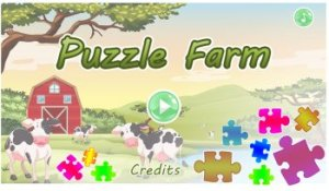 Easy Farm Picture Puzzle