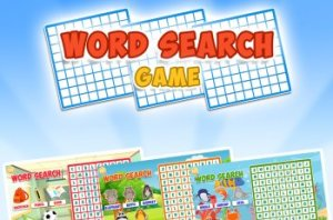 Word Search Puzzle for Kids